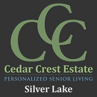 Logo of Cedar Crest Estate, Assisted Living, Memory Care, Silver Lake, MN