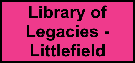 Logo of Library of Legacies - Littlefield, Assisted Living, Littlefield, TX