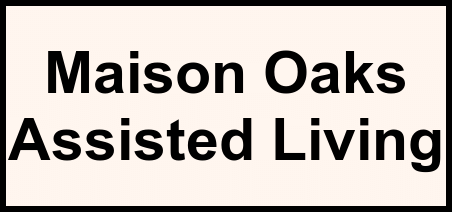 Logo of Maison Oaks Assisted Living, Assisted Living, La Place, LA