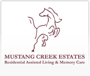 Logo of Mustang Creek Estates Burleson House, Assisted Living, Burleson, TX