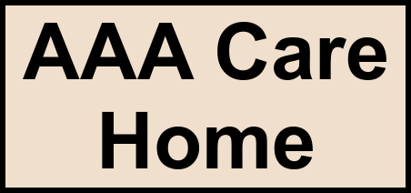 Logo of AAA Care Home, Assisted Living, Tucson, AZ