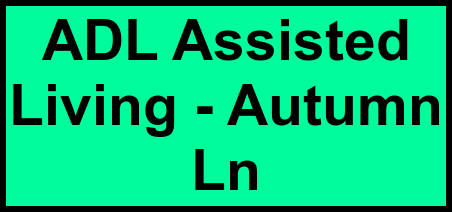 Logo of ADL Assisted Living - Autumn Ln, Assisted Living, Baytown, TX