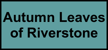 Logo of Autumn Leaves of Riverstone, Assisted Living, Missouri City, TX