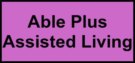 Logo of Able Plus Assisted Living, Assisted Living, Silver Spring, MD