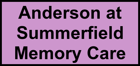 Logo of Anderson at Summerfield Memory Care, Assisted Living, Memory Care, Slidell, LA