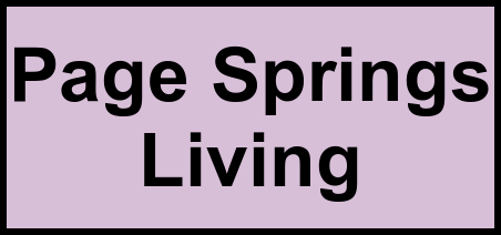 Logo of Page Springs Living, Assisted Living, Cornville, AZ
