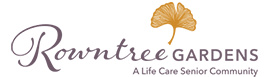 Logo of Rowntree Gardens, Assisted Living, Nursing Home, Independent Living, CCRC, Stanton, CA