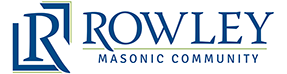 Logo of Rowley Masonic Community, Assisted Living, Nursing Home, Independent Living, CCRC, Perry, IA