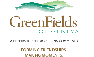 Logo of GreenFields of Geneva, Assisted Living, Nursing Home, Independent Living, CCRC, Geneva, IL