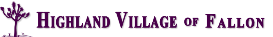 Logo of Highland Village of Fallon, Assisted Living, Nursing Home, Independent Living, CCRC, Fallon, NV