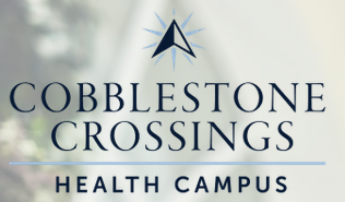 Logo of Cobblestone Crossings Health Campus, Assisted Living, Nursing Home, Independent Living, CCRC, Terre Haute, IN
