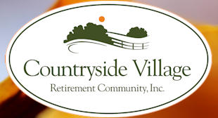 Logo of Countryside Village Retirement Community, Assisted Living, Nursing Home, Independent Living, CCRC, Stokesdale, NC