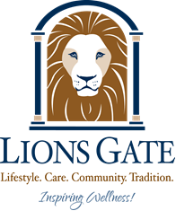 Logo of Lions Gate, Assisted Living, Nursing Home, Independent Living, CCRC, Voorhees, NJ