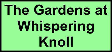 Logo of The Gardens at Whispering Knoll, Assisted Living, Pine Bluff, AR