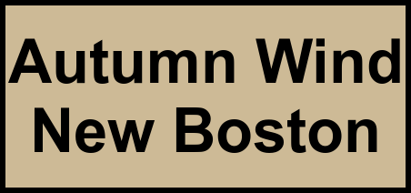 Logo of Autumn Wind New Boston, Assisted Living, New Boston, TX