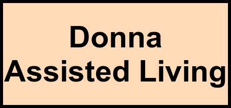 Logo of Donna Assisted Living, Assisted Living, Donna, TX