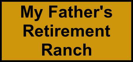 Logo of My Father's Retirement Ranch, Assisted Living, Wickenburg, AZ