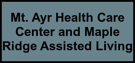 Logo of Mt. Ayr Health Care Center and Maple Ridge Assisted Living, Assisted Living, Mount Ayr, IA