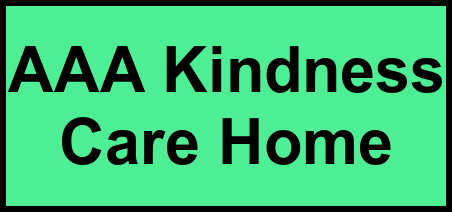 Logo of AAA Kindness Care Home, Assisted Living, Santa Maria, CA