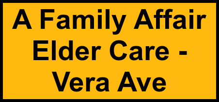 Logo of A Family Affair Elder Care - Vera Ave, Assisted Living, Redwood City, CA