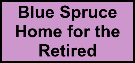 Logo of Blue Spruce Home for the Retired, Assisted Living, Bradford, VT