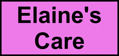 Logo of Elaine's Care, Assisted Living, Andrews, NC