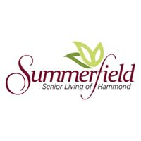 Logo of Summerfield of Hammond, Assisted Living, Hammond, LA