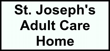 Logo of St. Joseph's Adult Care Home, Assisted Living, Sloatsburg, NY