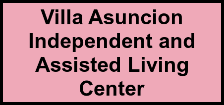 Logo of Villa Asuncion Independent and Assisted Living Center, Assisted Living, Independent Living, Princeton, TX