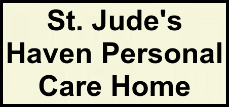 Logo of St. Jude's Haven Personal Care Home, Assisted Living, Johnstown, PA