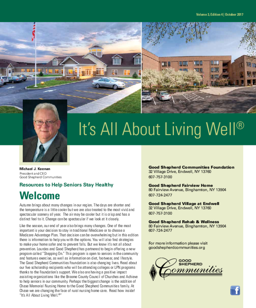 PDF Newsletter of Good Shepherd Fairview Home, Assisted Living, Nursing Home, Independent Living, CCRC, Binghamton, NY - 11169-C01038^newspaper-insert^4_pg