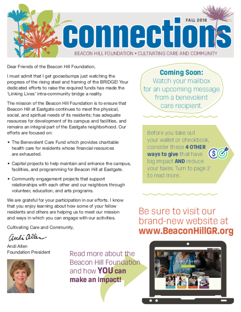 PDF Newsletter of Beacon Hill, Assisted Living, Nursing Home, Independent Living, CCRC, Grand Rapids, MI - 13044-C00297^newsletter-10-31-final-hi-res-for-emailing^4_pg