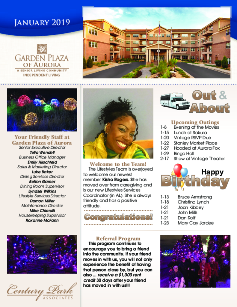 PDF Newsletter of Garden Plaza of Aurora, Assisted Living, Nursing Home, Independent Living, CCRC, Aurora, CO - 4340-C00818^y3g2qo^3_pg