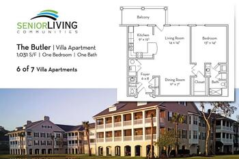 Floorplan of Marsh Edge, Assisted Living, Nursing Home, Independent Living, CCRC, Saint Simons Island, GA 18