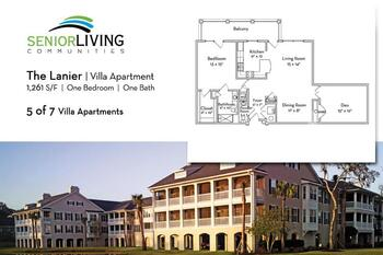 Floorplan of Marsh Edge, Assisted Living, Nursing Home, Independent Living, CCRC, Saint Simons Island, GA 20