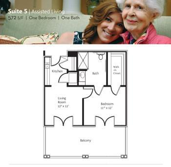 Floorplan of Marsh Edge, Assisted Living, Nursing Home, Independent Living, CCRC, Saint Simons Island, GA 5