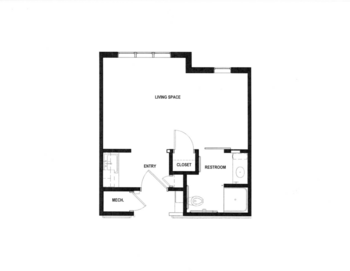 Floorplan of Rowley Masonic Community, Assisted Living, Nursing Home, Independent Living, CCRC, Perry, IA 2