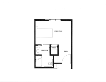 Floorplan of Rowley Masonic Community, Assisted Living, Nursing Home, Independent Living, CCRC, Perry, IA 3