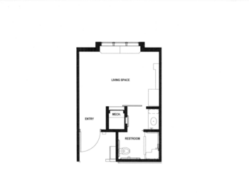 Floorplan of Rowley Masonic Community, Assisted Living, Nursing Home, Independent Living, CCRC, Perry, IA 5