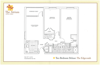 Floorplan of The Cedars Maine, Assisted Living, Nursing Home, Independent Living, CCRC, Portland, ME 4