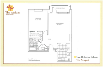 Floorplan of The Cedars Maine, Assisted Living, Nursing Home, Independent Living, CCRC, Portland, ME 5