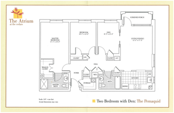 Floorplan of The Cedars Maine, Assisted Living, Nursing Home, Independent Living, CCRC, Portland, ME 6