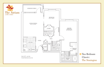 Floorplan of The Cedars Maine, Assisted Living, Nursing Home, Independent Living, CCRC, Portland, ME 9