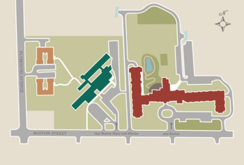 Campus Map of Beacon Hill, Assisted Living, Nursing Home, Independent Living, CCRC, Grand Rapids, MI 1