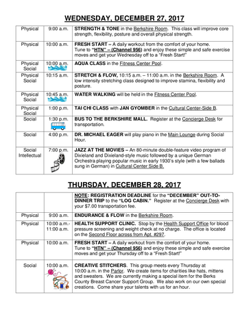 Activity Calendar of The Highlands at Wyomissing, Assisted Living, Nursing Home, Independent Living, CCRC, Wyomissing, PA 14