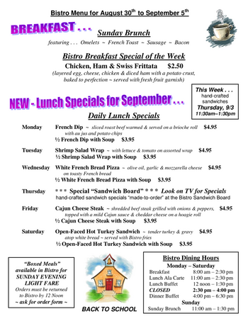 Dining menu of The Highlands at Wyomissing, Assisted Living, Nursing Home, Independent Living, CCRC, Wyomissing, PA 4