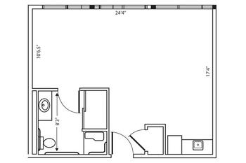 Floorplan of Garden Plaza of Aurora, Assisted Living, Nursing Home, Independent Living, CCRC, Aurora, CO 3