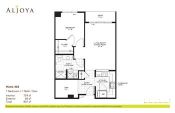Floorplan of Aljoya Thornton Place, Assisted Living, Nursing Home, Independent Living, CCRC, Seattle, WA 6
