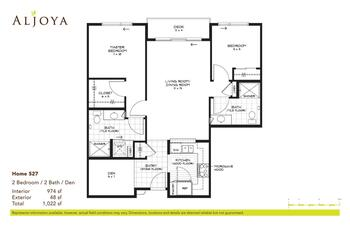 Floorplan of Aljoya Thornton Place, Assisted Living, Nursing Home, Independent Living, CCRC, Seattle, WA 7