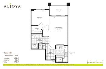Floorplan of Aljoya Thornton Place, Assisted Living, Nursing Home, Independent Living, CCRC, Seattle, WA 1